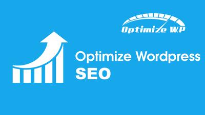 Optimize Wordpress SEO
