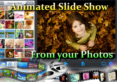Design Nice Animated Slideshow from your photos
