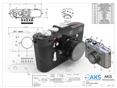 Convert your brilient ideas into a 3d cad model & production ready drawings