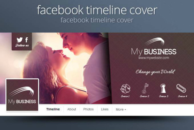 Make professional Facebook cover Timeline