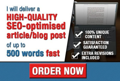Write a high-quality SEO and user-friendly article/blog post/web page (up to 500w)