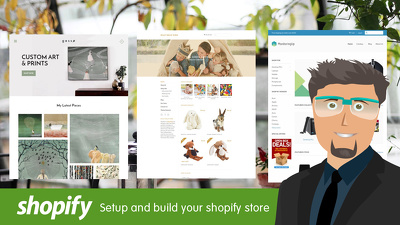 Setup and develop your shopify store