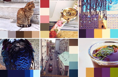 Create a colour scheme based on any picture (or just one colour of your choice)