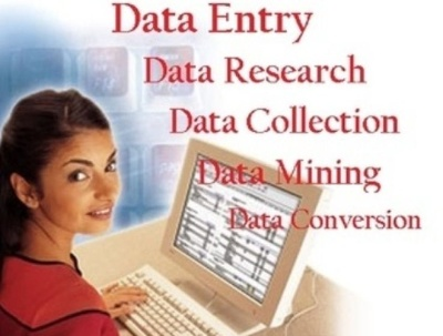 Do  DATA ENTRY + WEB RESEARCH for 1 hours