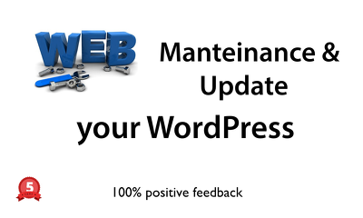 Provide 2 hours of maintenance/updates/changes for your Wordpress