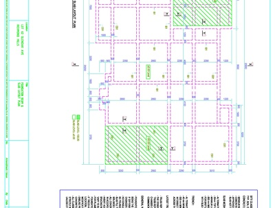 Structural drawing Using Auto CAD Per Page