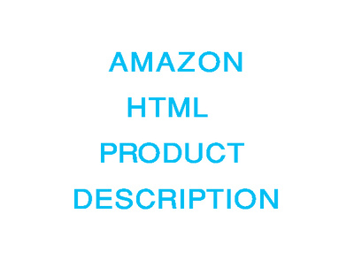 Write a professional HTML Amazon product description listing