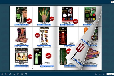 Create you a flipbook that is printable and can be emailed from a pdf