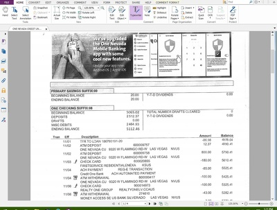Edit any kind of financial PDF document (2 page)