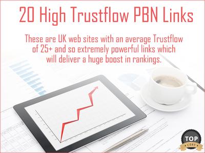 Build 20 Very High Trustflow PBN Links