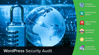Provide a security audit of your WordPress website