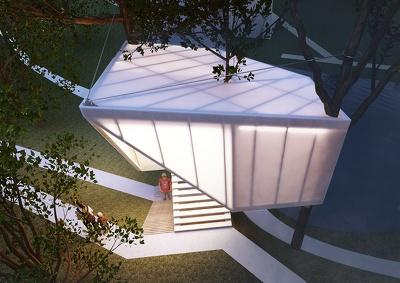 make exterior 3d render