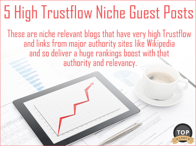 Build 5 Very High Trustflow Niche Relevant Guest Posts