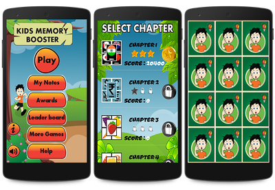 Kids Memory Game on Android