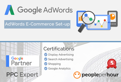 Create a professional E-commerce Google AdWords PPC campaign