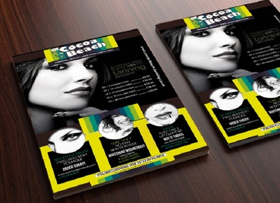 Design an amazing A4/A5 flyer with unlimited revisions