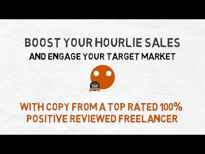 Write you a kickass hourlie description to boost your sales beyond recognition