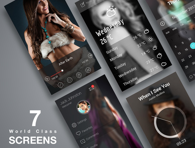 Design Modern And Professional UI / UX For Android / iOS / Windows  App