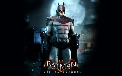 "3D Game Character Models of Movie ""Batman Arkham knight "" Animation Mobile Supported!"