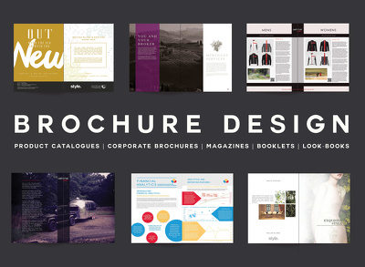 Design a luxury professional brochure / catalogue / leaflet