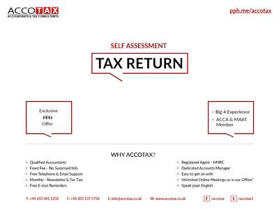 Prepare and file Personal Tax Return/Self Assessment Tax Return