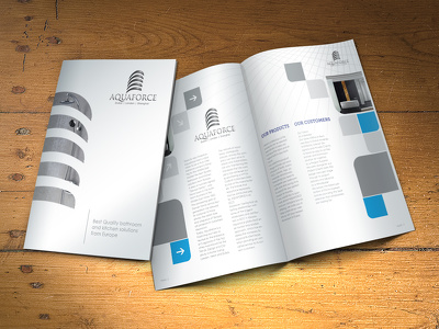 Design your professional Brochure / Catalogue / Menu
