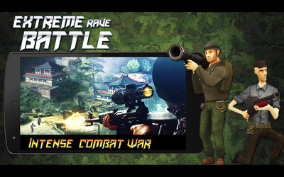 "Unity 3D Action Owesome War Game""Extreme Rave Battle"" FPS Game"