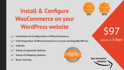 Install & configure WooCommerce on your WordPress website