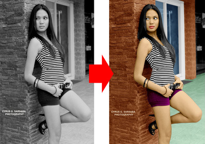 Give New Life to your Black & White Photo