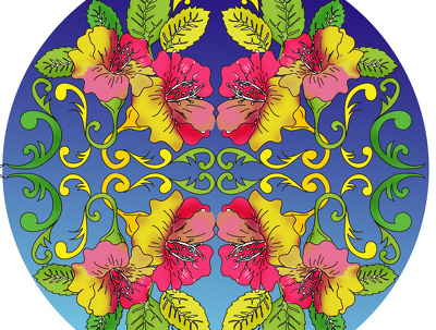 Create beautiful mandalas and adult colouring pages
