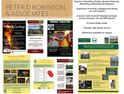 Design a flyer, leaflet or poster