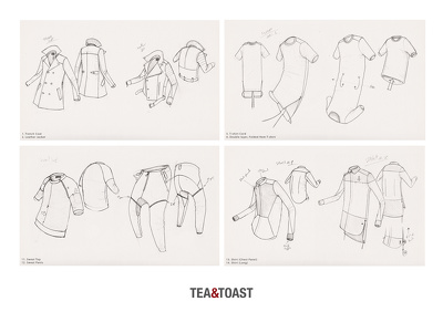 Hand sketch your fashion design garments