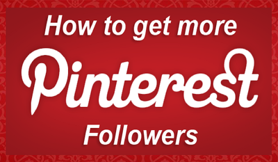 Add 1,000 genuine Pinterest followers to your board / profile