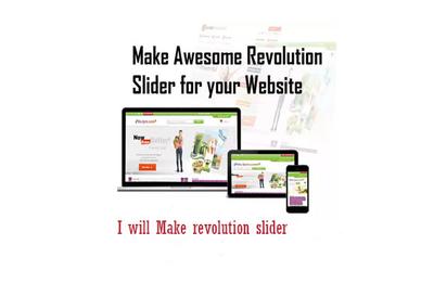 Make revolution slider