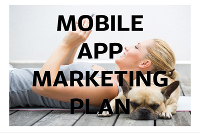 Give you my Mobile App Marketing Plan template