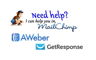 Help your with your mailchimp,aweber,getresponse,zoho chapmigns  and make templates