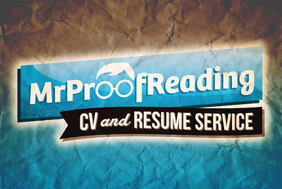 Professionally proofread, copyedit and reformat your CV or resume