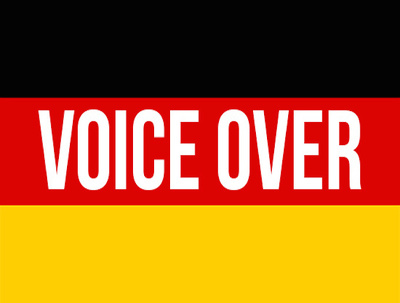 Record up to 150 words of voice over in German male/female