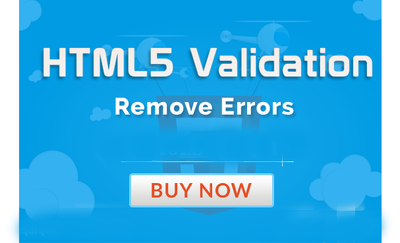 Correct html5 validation errors on your website