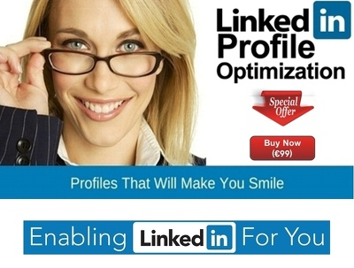Create and optimize your LinkedIn Profile and/or Company Page.