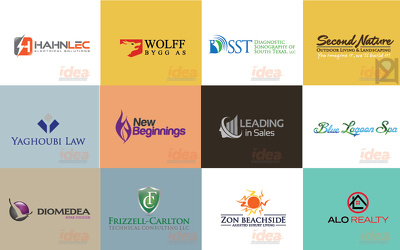 Design an exclusive professional logo with 4 concepts with 10 revisions