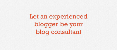Be your blog consultant and teach you how to increase traffic