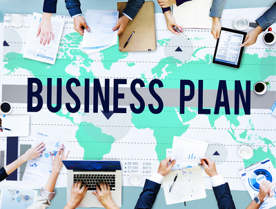 Produce a full business plan, including all financials and marketing content
