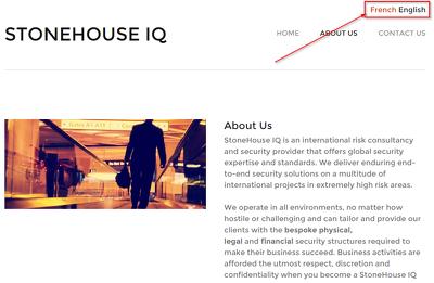 Build you a mobile responsive multilingual website