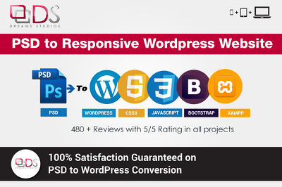 Create a cost effective PSD to Responsive WordPress website using Bootstrap 3.0