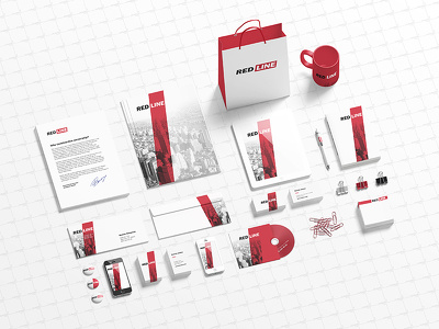 Design your brand stationary, 15+ items (Logo, letterhead, business card, and more)