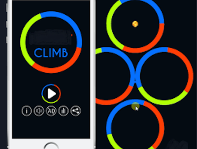 Develop top ranking apple store game Color Switch clone in iOS
