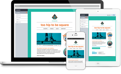 Make professionally  Responsive Email Template with classic look