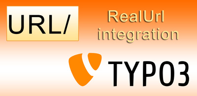 Add realurl for your Typo3 website