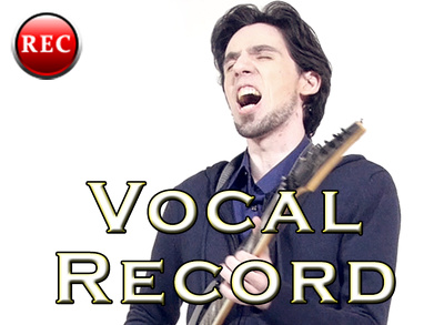 Record vocals for your song, with your lyrics